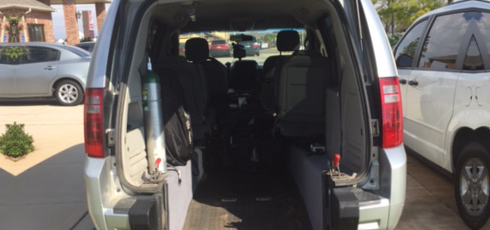 van inside view