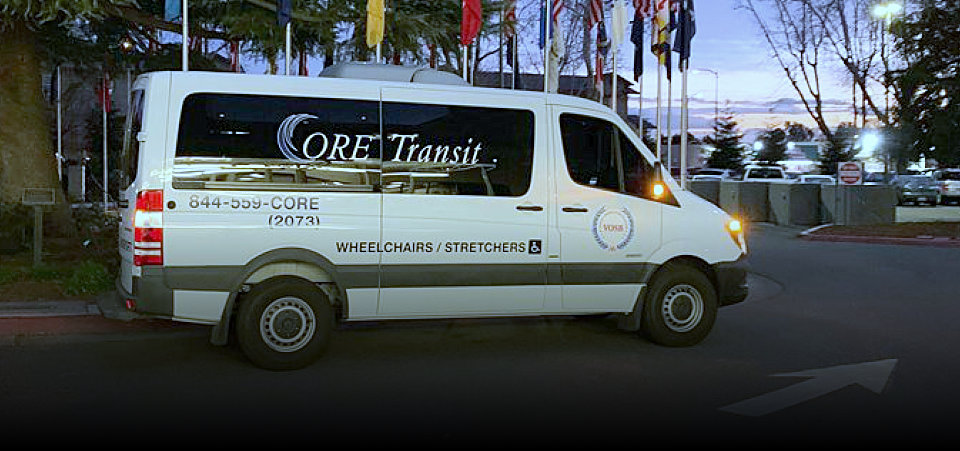 Core Transit wheelchairs