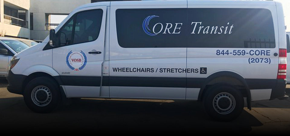 Core Transit wheelchairs and stretchers